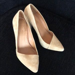 Beautiful Madewell Suede Pumps!